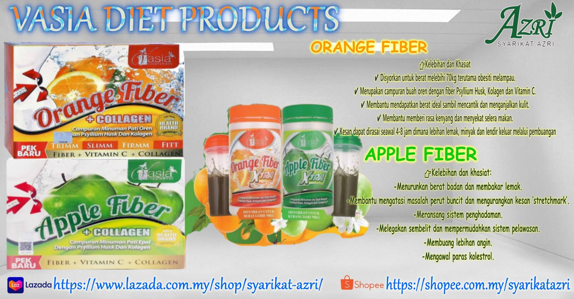 VASIA DIET PRODUCTS