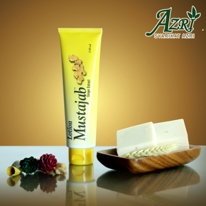 LOTION MUSTAJAB GINGER EXTRACT