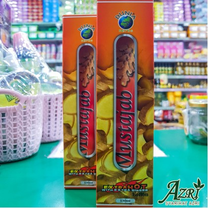 LOTION MUSTAJAB EXTRA HOT WITH GINGER EXTRACT