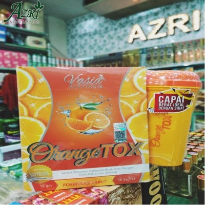 VASIA ORANGE TOX + FREE SHAKER